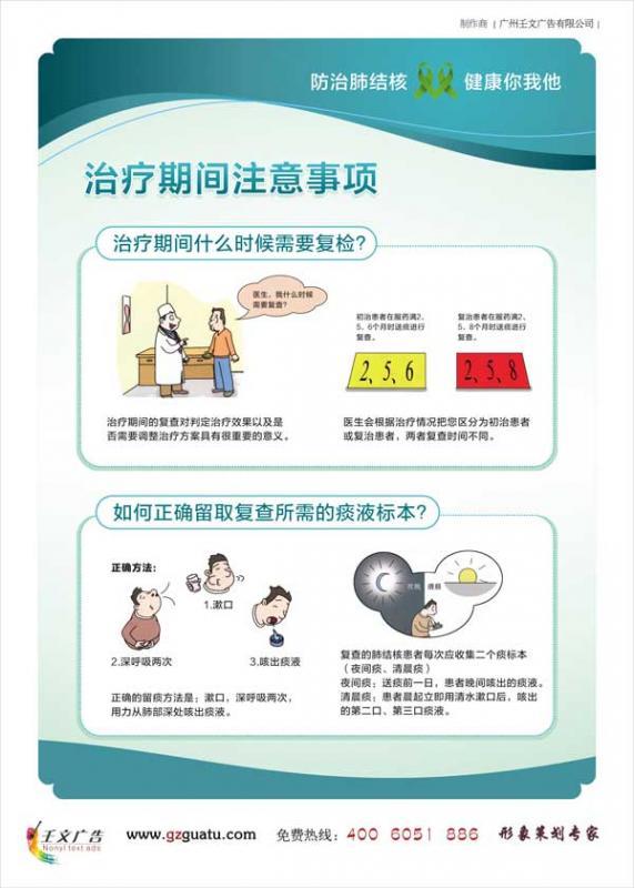 中心醫院傳染科掛圖_治療期間注意事項(一)